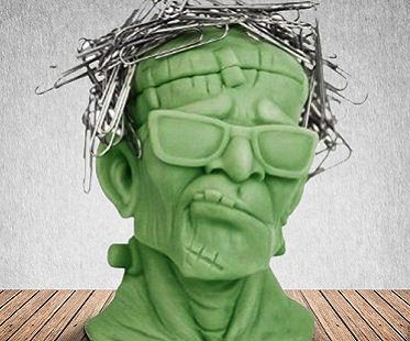 Frankenstein Paperclip Holder