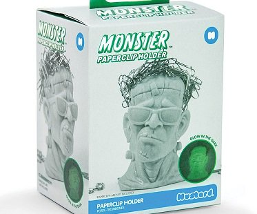 Frankenstein Paperclip Holder box
