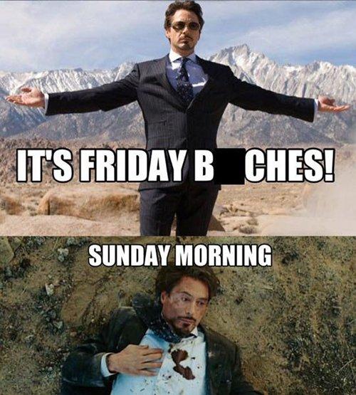 Friday Sunday