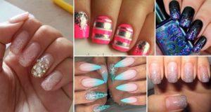 Glitter-Fade Nail DesignS