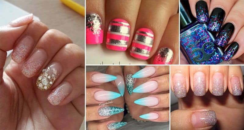 14 Gorgeous Glitter-Fade Nail Designs That Will Inspire You