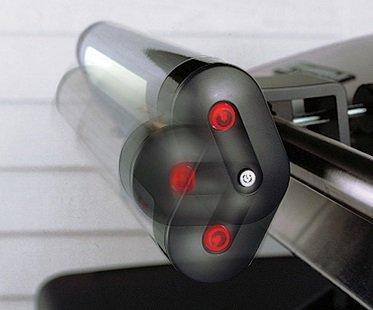 Handle-Mount Grill Light pivot
