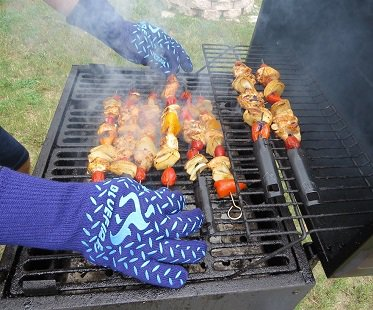 Heat Resistant Gloves grill