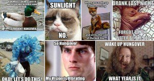 Hilarious Accurate Hangover Images