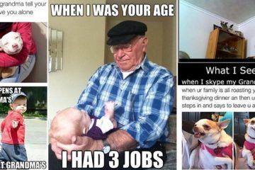 Hilarious Grandparent Images