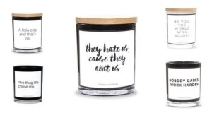 Awesome Quote Candles