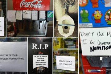 Hilarious Out Of Order Signs