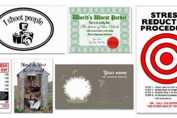 Hilarious Personal Business Cards