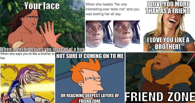 "17 Jokes About The ""Friend Zone"" That'll Make Women Laugh ... |Friend Zone Hilarious"