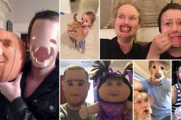 Hilarious Terrifying Face Swaps