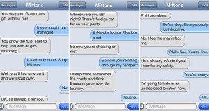 Hilarious Texts Cat