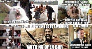 Hilarious Wedding Themed Images