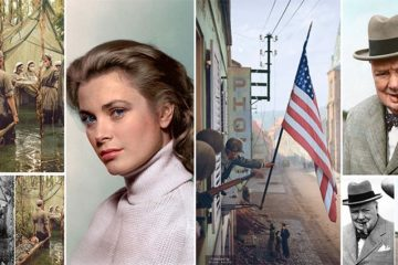Historic Photos Brought Life Color