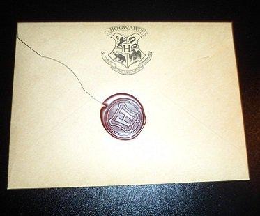 Hogwarts Acceptance Letter seal