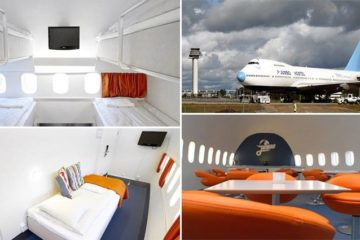 Hotel Jumbo Jet Refurbished
