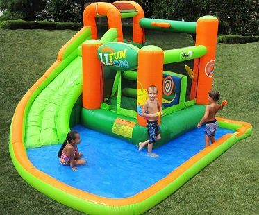 Inflatable Bouncer And Water Slide