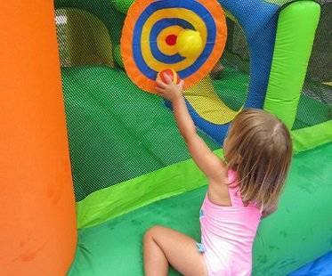 Inflatable Bouncer And Water Slide balls