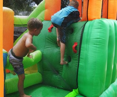 Inflatable Bouncer And Water Slide house