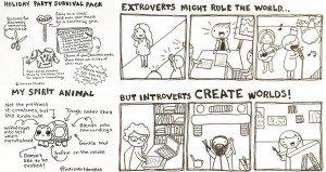 Introvert Doodles Relate Marzi