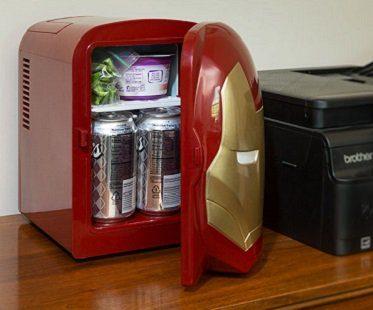 Iron Man mini fridge