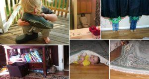 Kids Need Practice Hide-And-Seek