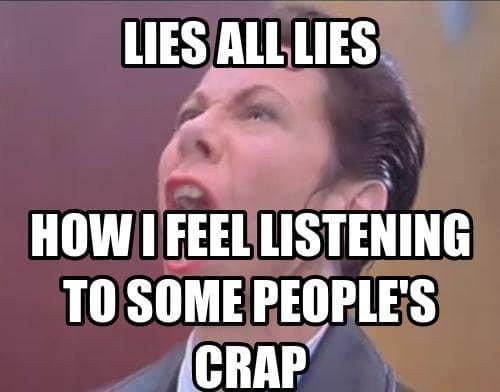 Memes about lies