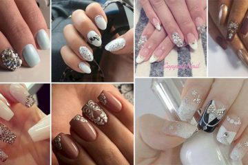 Manicure Ideas Wedding Day
