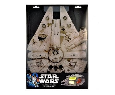 Millennium Falcon Chopping Board box