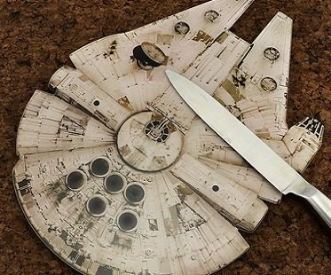 Millennium Falcon Chopping Board star wars