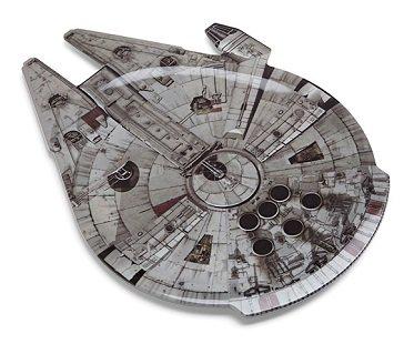 Millennium Falcon Serving Platter plate