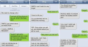 Most Hilarious Text From Dog