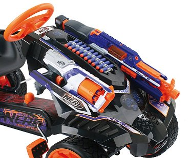 Nerf Battle Racer Ride On ammo
