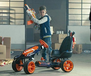 Nerf Battle Racer Ride On gun