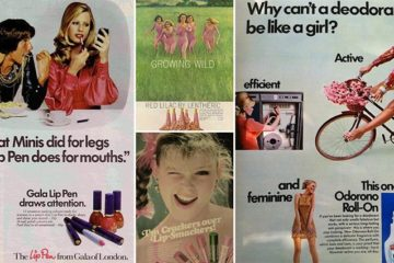 Old School Beauty Ads Cringe