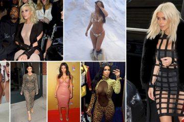 Outrageous Outfits Kim Kardashian