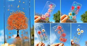 Phone Cases Real Flowers