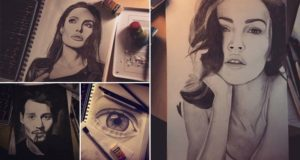 Photorealistic Drawings Nanna Karoliina