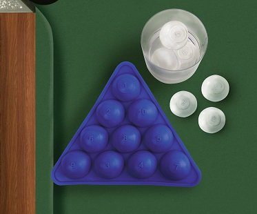 Pool Balls Ice Cube Tray