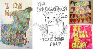 Positive Affirmations Coloring Book