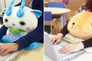 Protect Wrists Cuddle PC Character Cushions