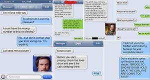 Random Text Message Conversations