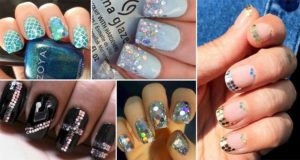 Sequin Themed Nail Designs