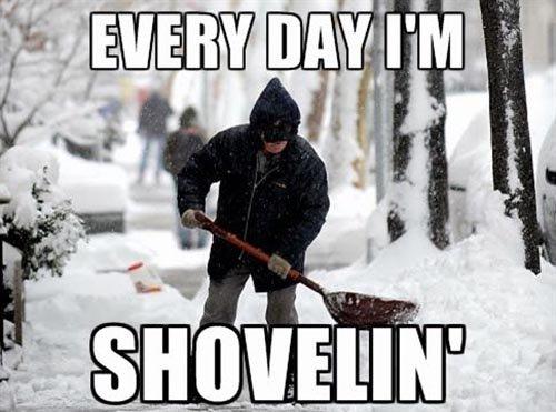 Shovelin