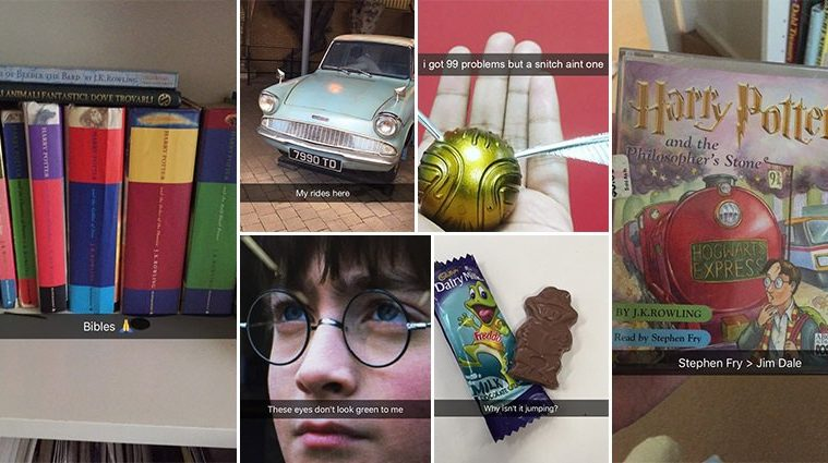Snapchats Harry Potter Fans