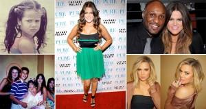 Stunning Evolution Khloe Kardashian
