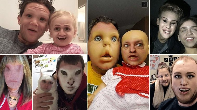 Terrifying Face Swap Snapchats