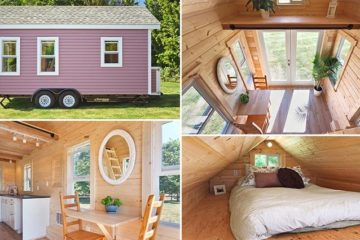 Tiny Small Pink House