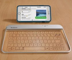 Transparent Wireless Glass Keyboard