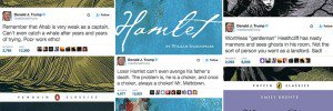 Tweets Donald Trump Classic Literature