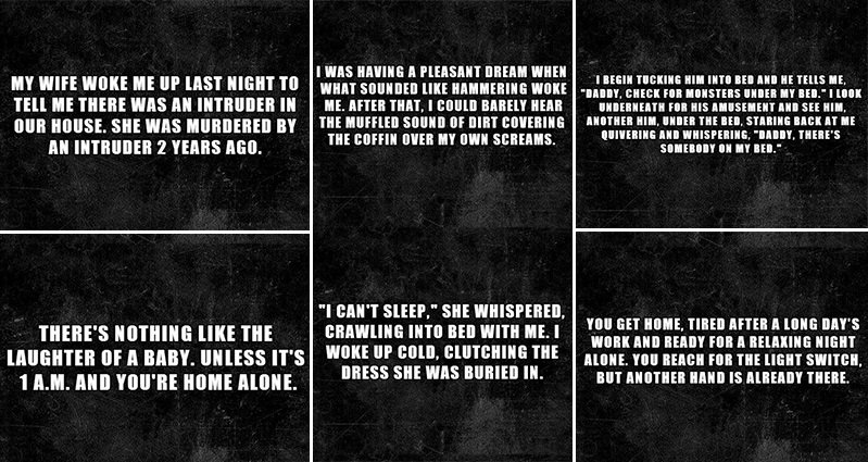 20 Two Sentence Horror Stories That Will Creep You Out